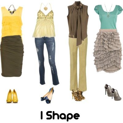 Body Shapes Explained – I Shape (slim and boyish)