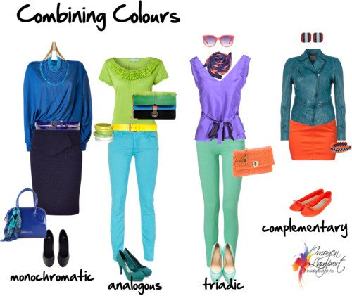 Try new colour combinations in your wardrobe using the ...