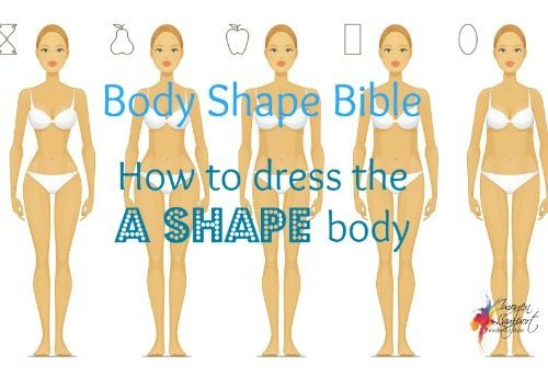 Dressing the A Shape body