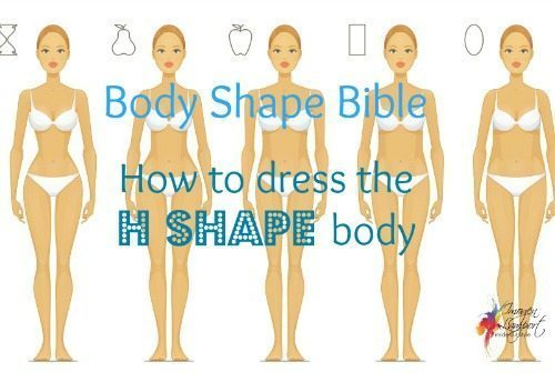 Understanding how to dress your H shape body