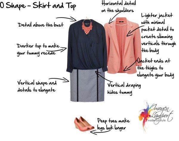 O shape Skirt and top