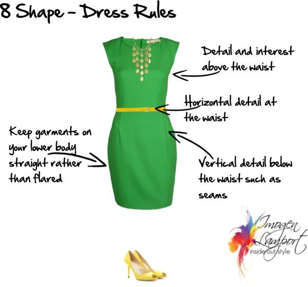 8 Shape dress rules