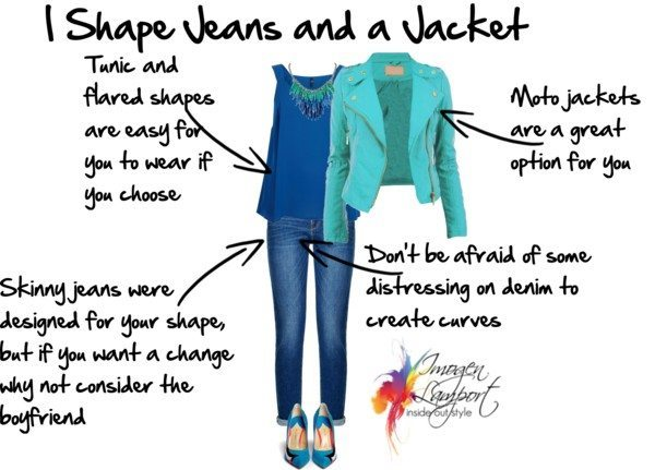 I shape jeans and a jacket