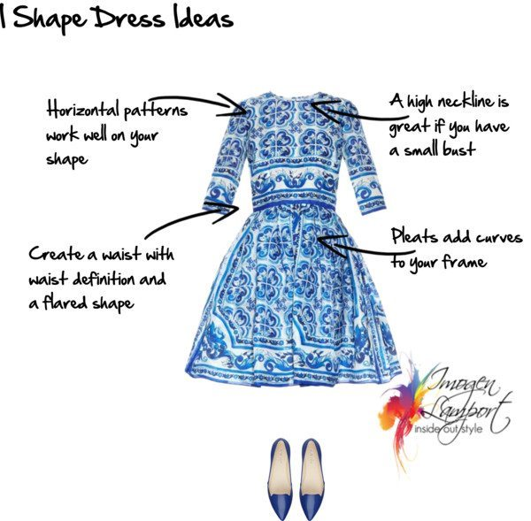 I Shape Dress