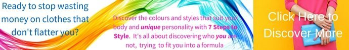 Discover the colours and styles that suit you with 7 steps to style