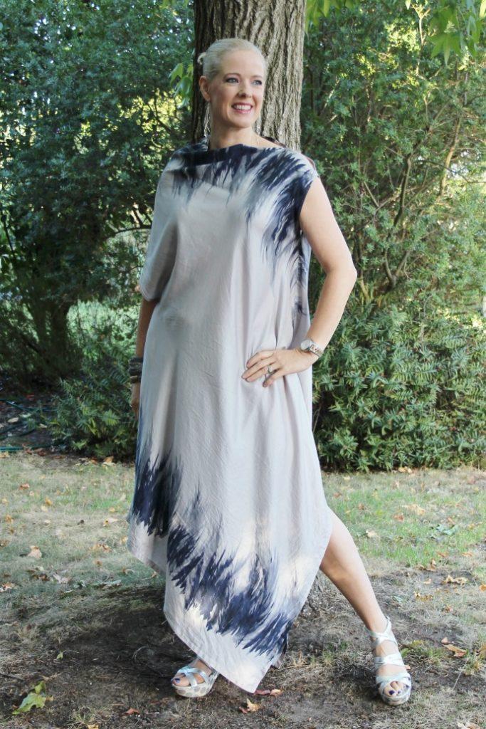 Alfia Galimova Design Grey Silk