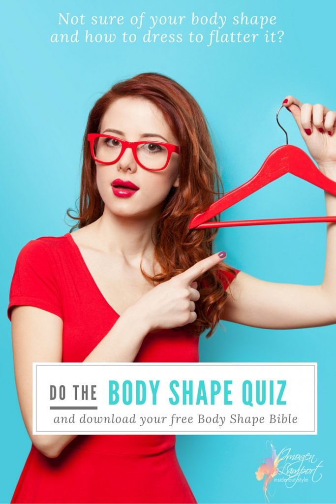 Take the Body Shape Calculator Quiz and download your free Body Shape Bible to learn how to flatter your figure today