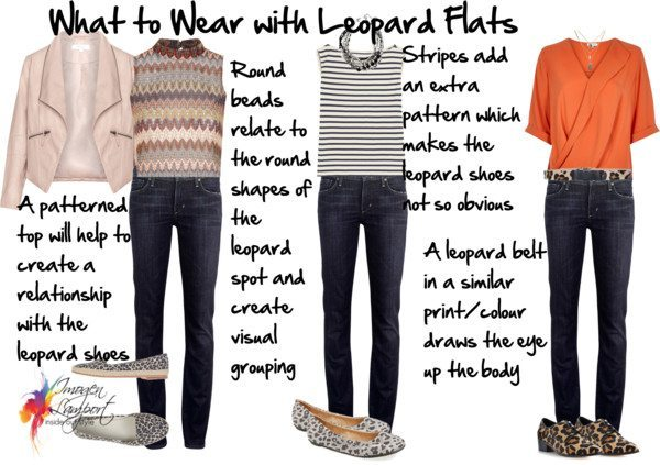 What to wear with leopard flats