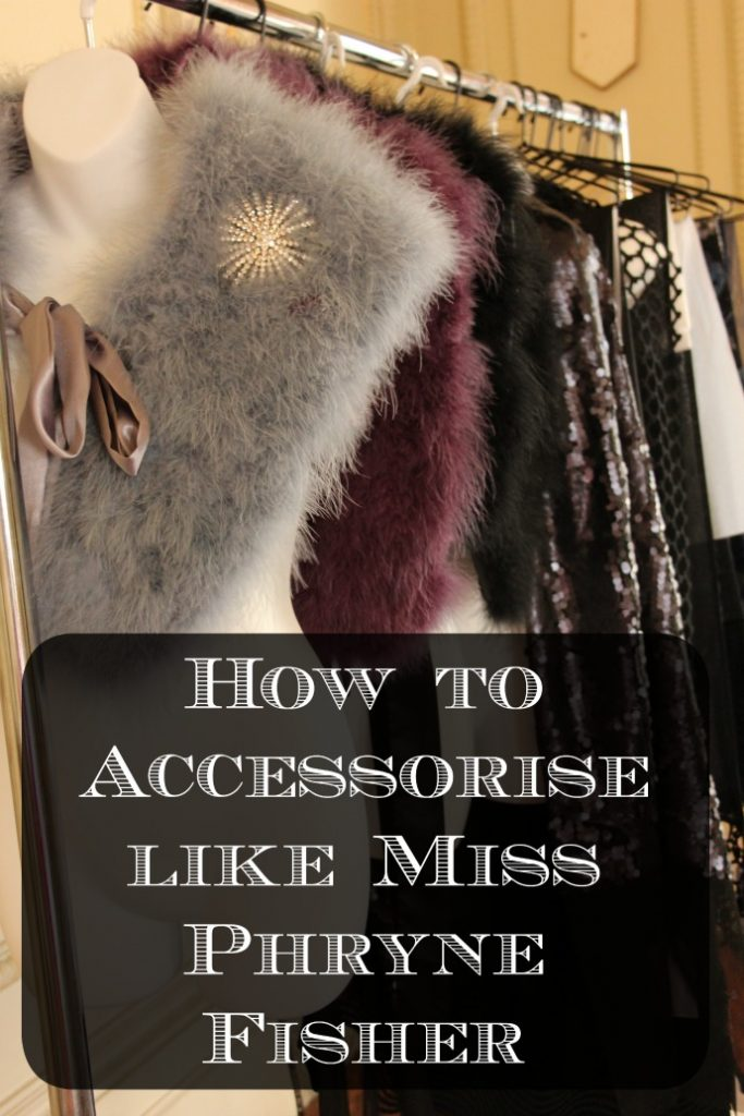 how to accessorise like miss fisher