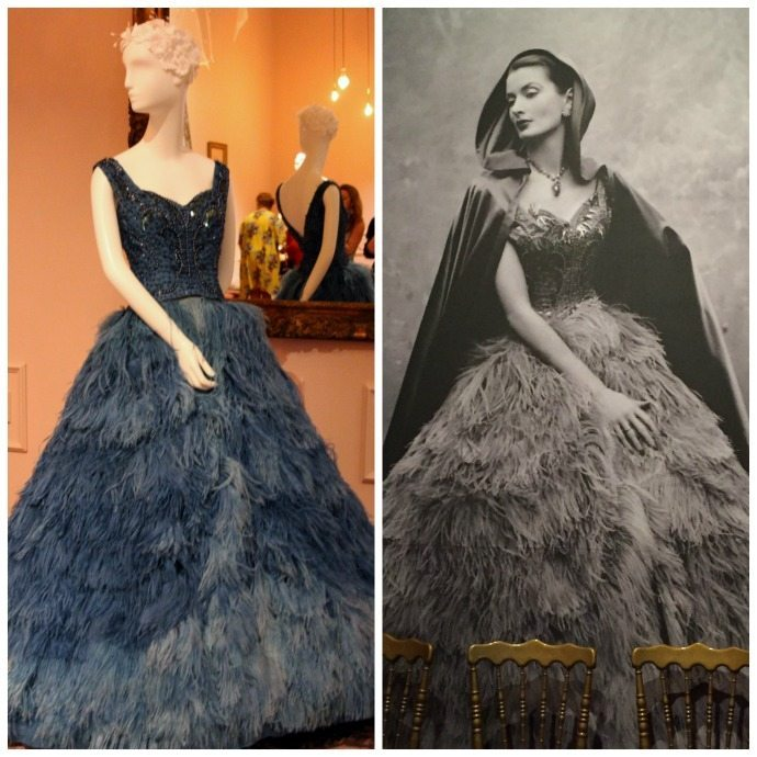 200 years Australian fashion feather dress