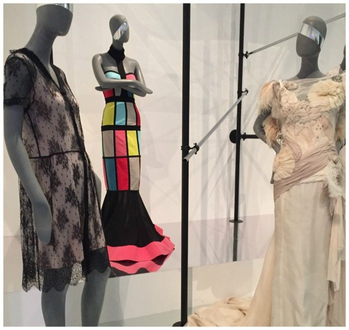 collette dinnigan shows at an International Fashion Week
