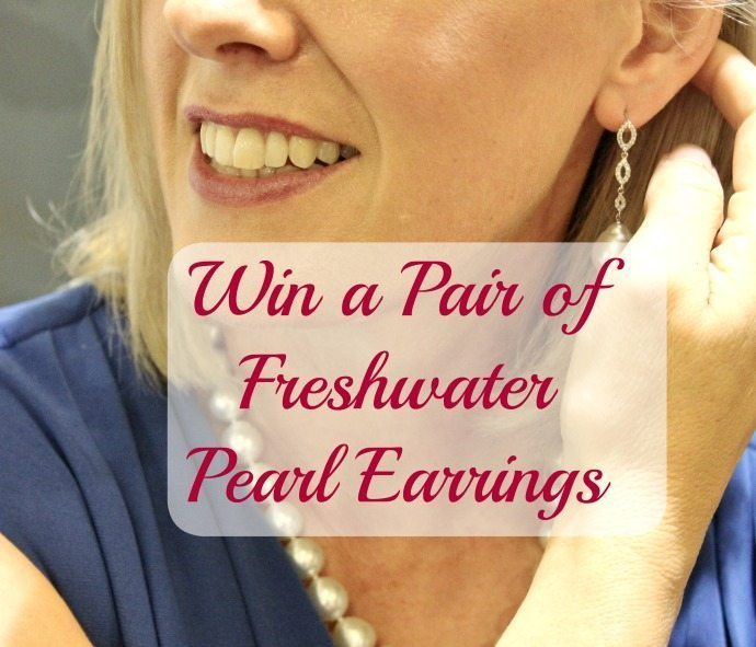 win a pair of pearl earrings